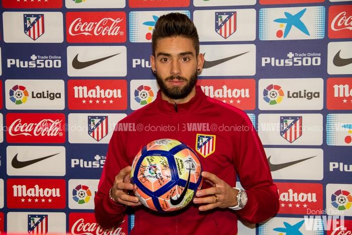 """Carrasco: """"Estoy feliz, es la primera vez que meto tres goles en un partido"""""""