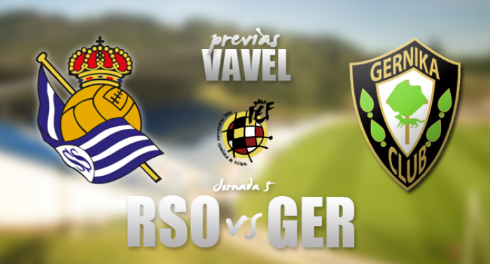 Real Sociedad 'B'- Gernika: Tres puntos para escalar posiciones