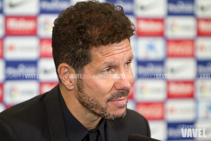 """Simeone: """"Mañana seguramente jueguen los cuatro delanteros, los necesitamos"""""""