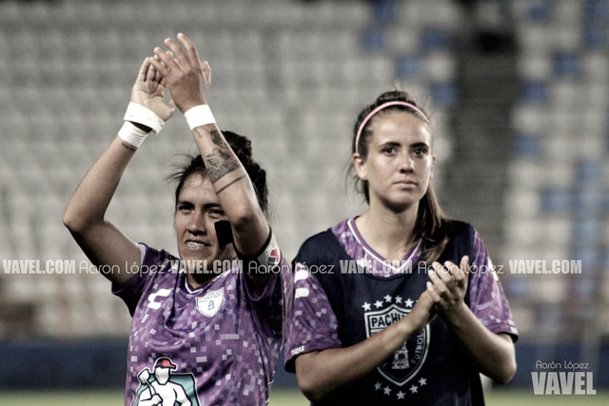 Imágenes del Pachuca 2-1 Puebla Liga MX Femenil