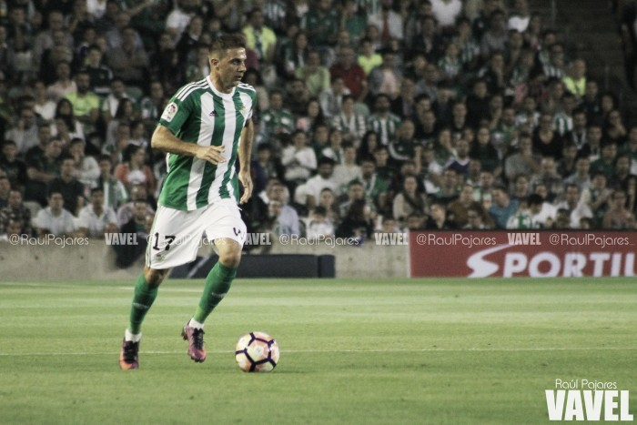 """Joaquín: """"Estamos deseando que llegue el partido para despejar los pensamientos negativos"""""""