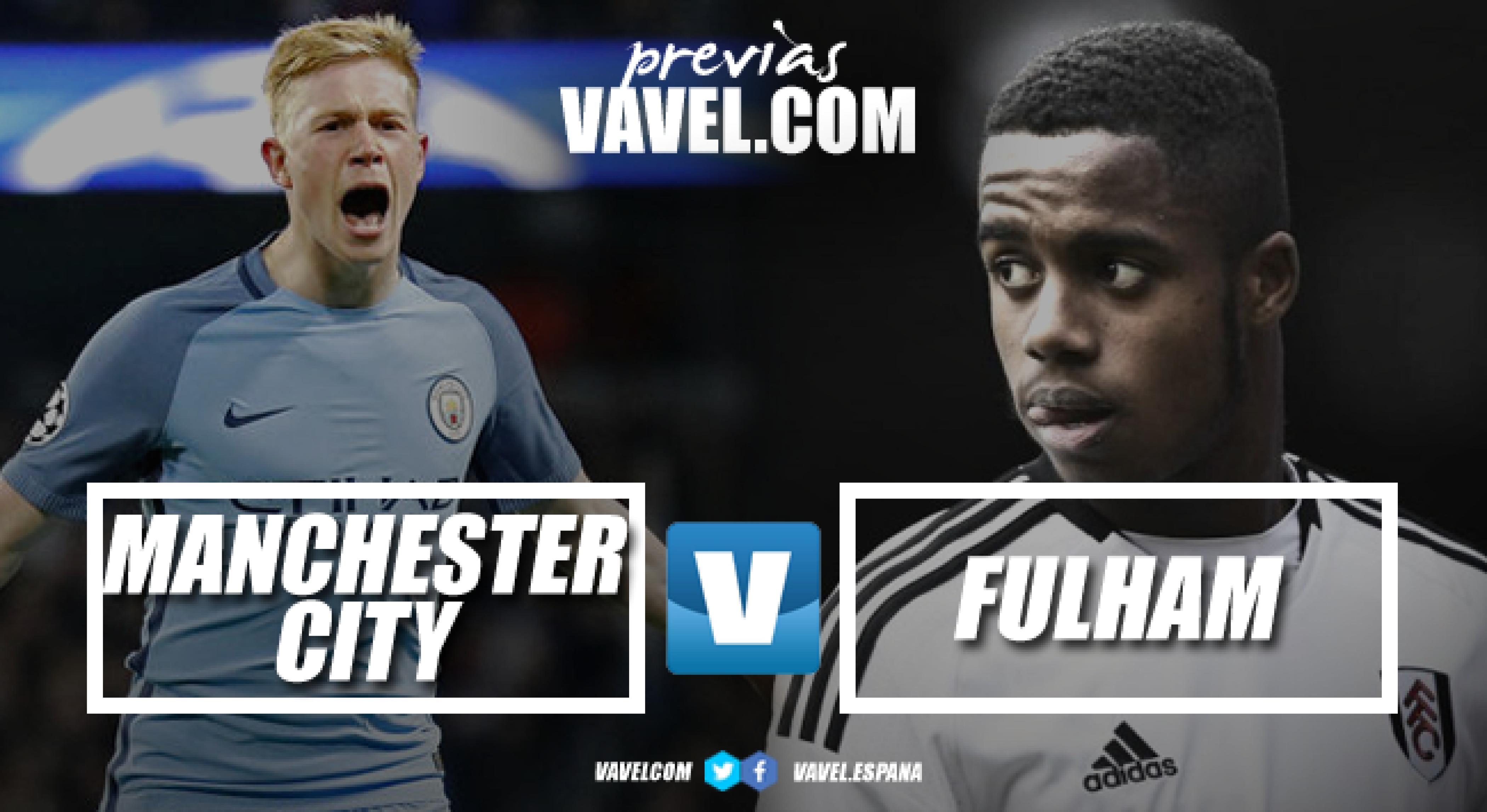 Previa Manchester City - Fulham: los de Pep también quieren pelear arriba