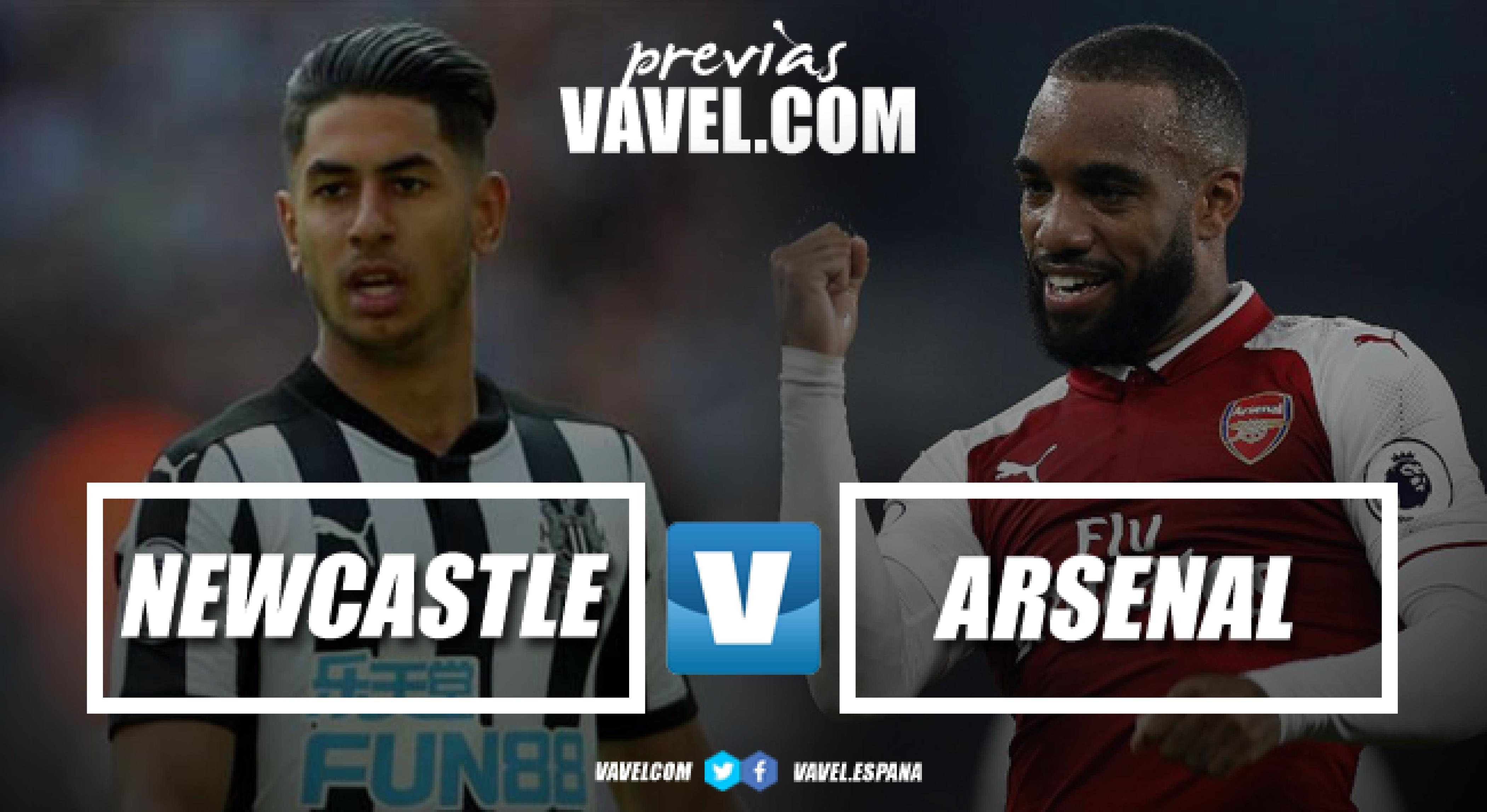 Previa Newcastle - Arsenal: buscando recuperar sensaciones