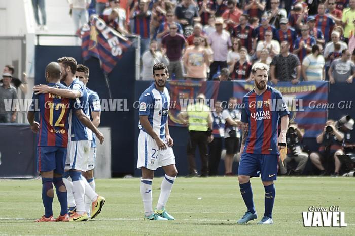 Análisis post-partido CD Leganés - FC Barcelona