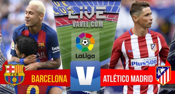 Resultado Barcelona x Atlético de Madrid pelo Campeonato Espanhol 2016/2017 (1-1)