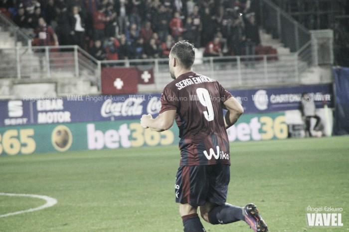 Sergi Enrich marca y dedica su gol a Mendilibar