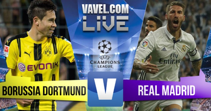 Borussia Dortmund empata com o Real Madrid pela UEFA Champions League (2-2)