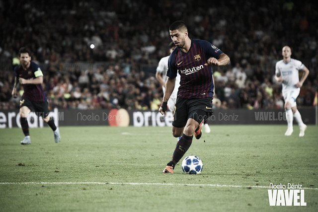 Suárez iguala a Kubala en goles en La Liga