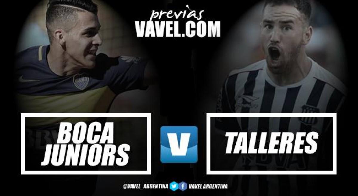 Previa Boca - Talleres: se empieza a definir el torneo