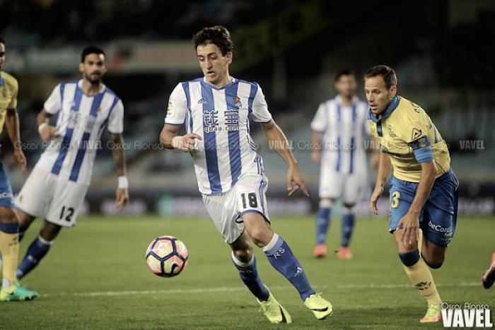 Precedentes ligueros contra Las Palmas en Anoeta