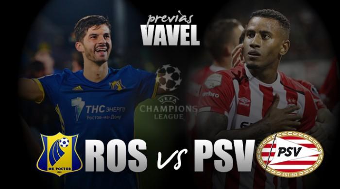 Champions League: Rostov e PSV a caccia di punti