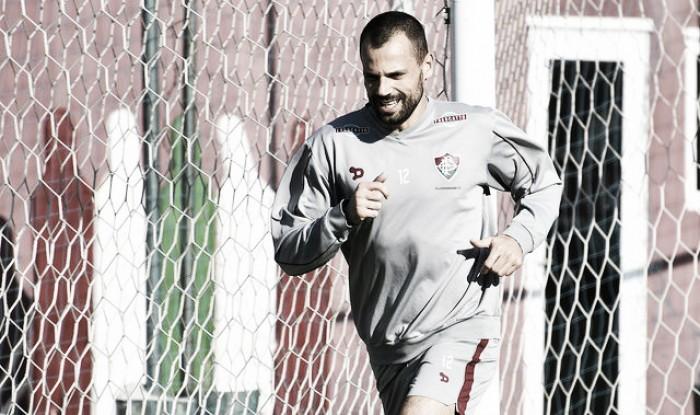 Diego Cavalieri volta a correr e segue realizando trabalho de recondicionamento físico
