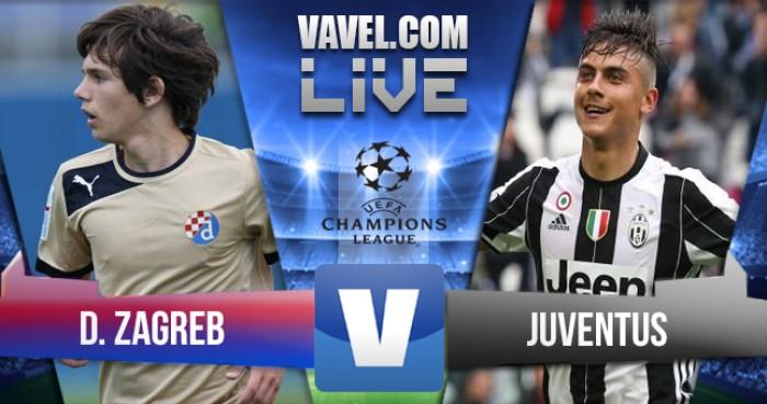 Resultado Dinamo Zagreb vs Juventus en vivo online en Champions League 2016