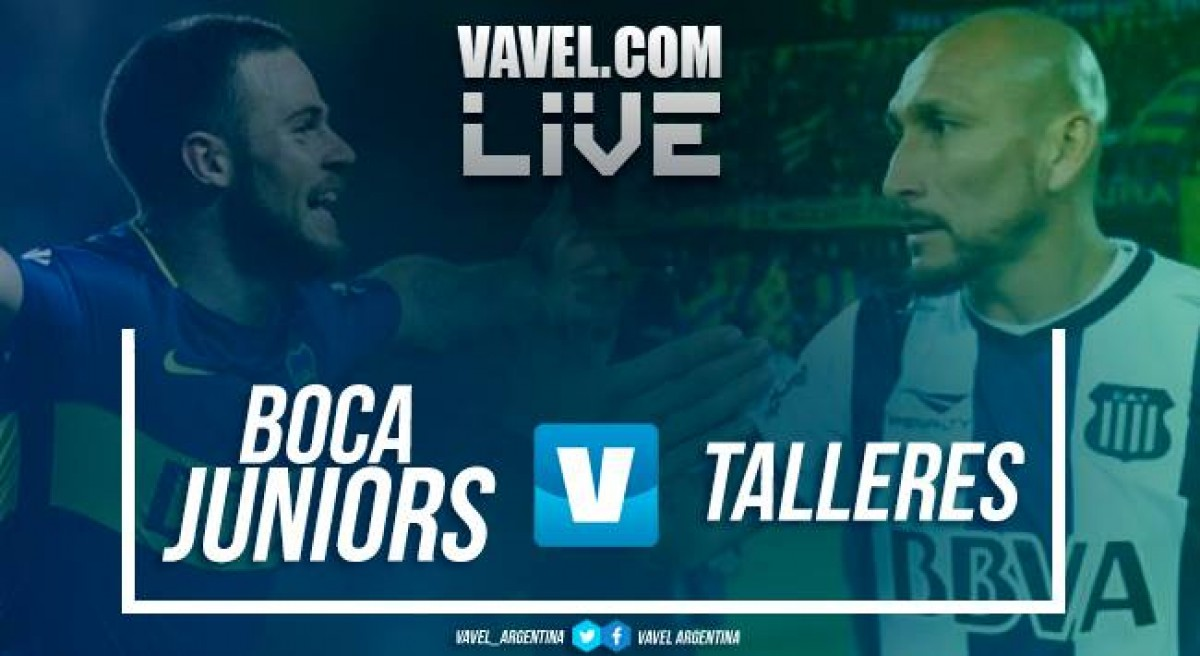 Resumen Boca Juniors 2-1 Talleres en Superliga 2018