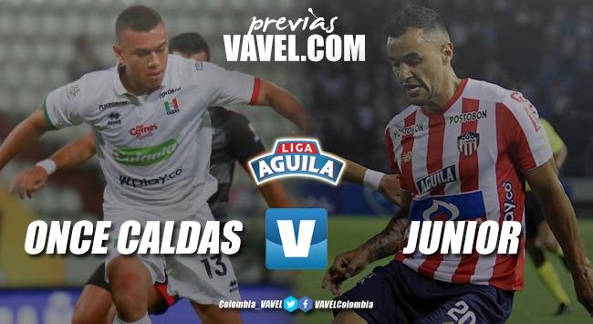 Previa Once Caldas vs Junior: Duelo de equipos que se quieren reencontrar con el triunfo