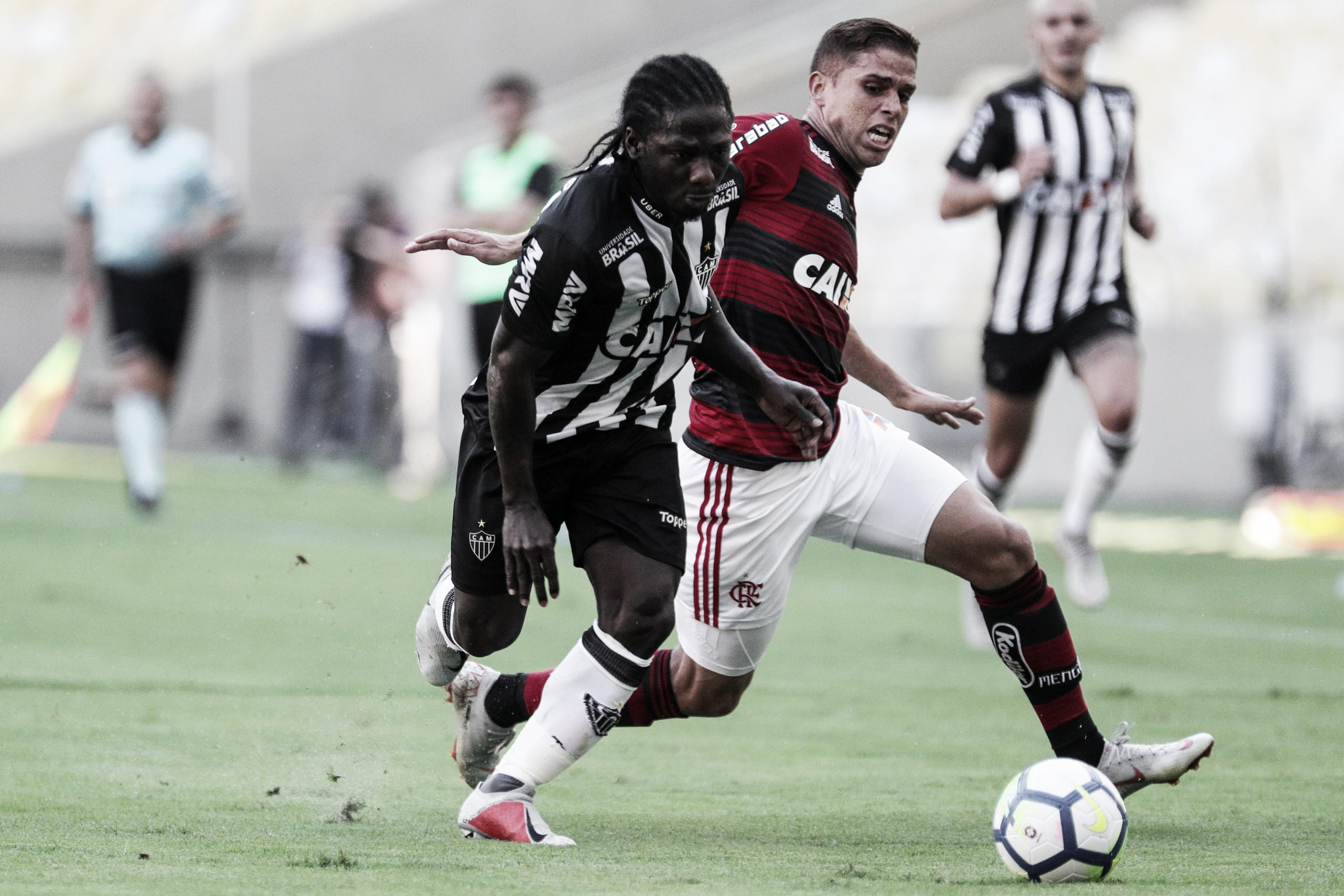 Em jogo eletrizante, Flamengo vence Atlético-MG no Maracanã e segue na cola dos líderes