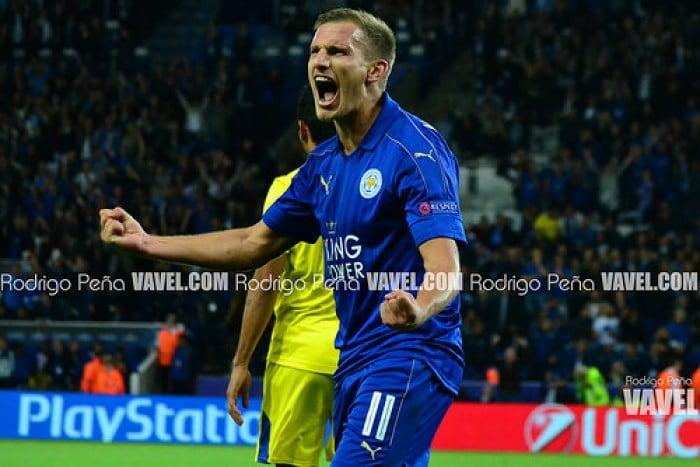 Leicester City 1-0 FC Porto: Slimani the Dragon Slayer again as Foxes down Porto
