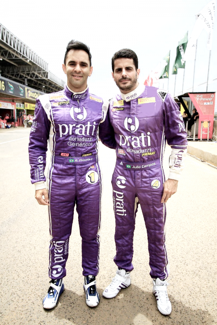 Antonio Pizzonia e Júlio Campos correm pela RX Mattheis Motorsport em 2017 pela Stock Car