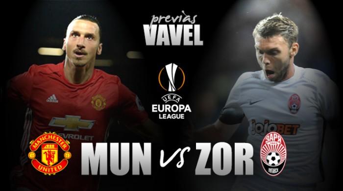 Manchester United recebe Zorya Luhansk visando recuperação na Europa League