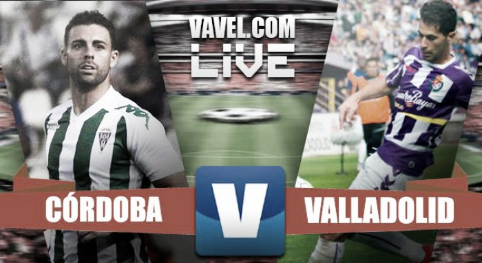 Resumen Córdoba CF 1-1 Real Valladolid en Segunda División 2016