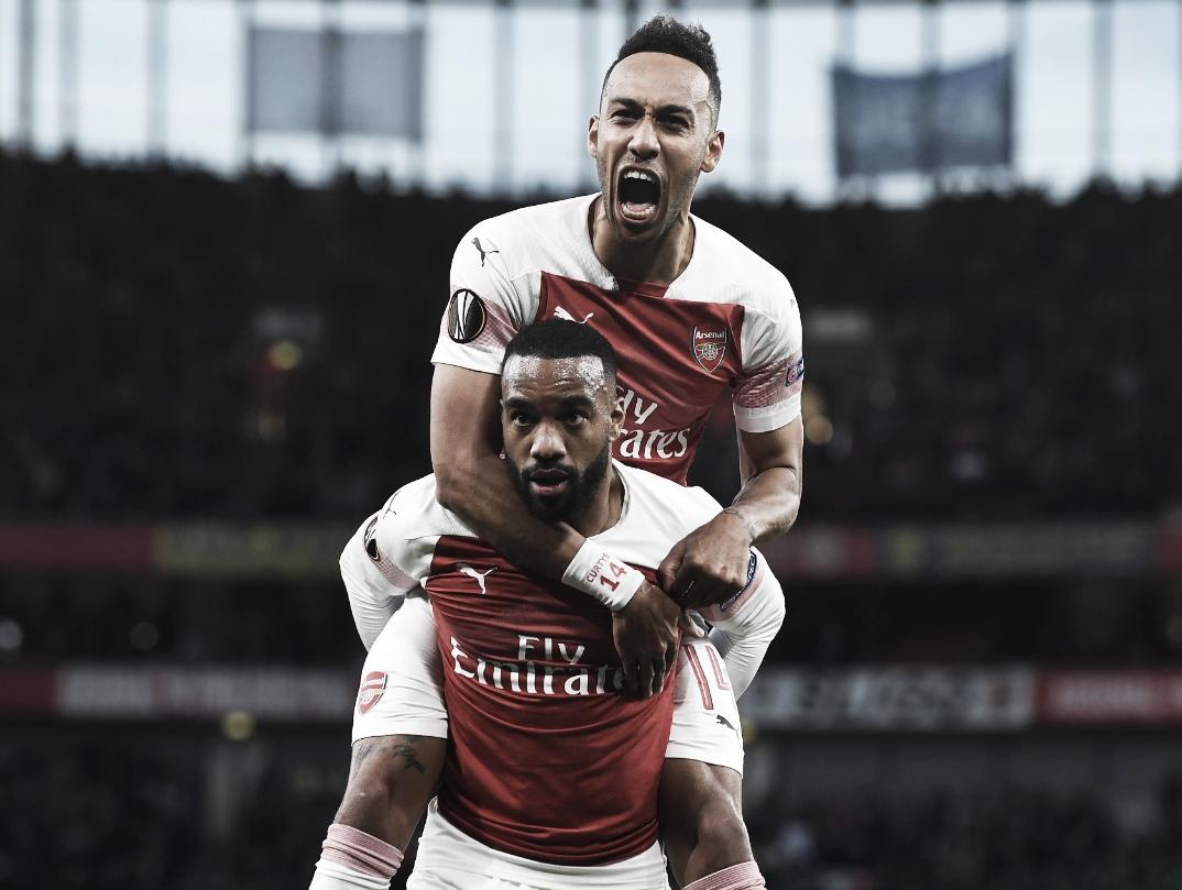 Após vitória, Aubameyang afirma que ganhar Europa League é o objetivo do Arsenal