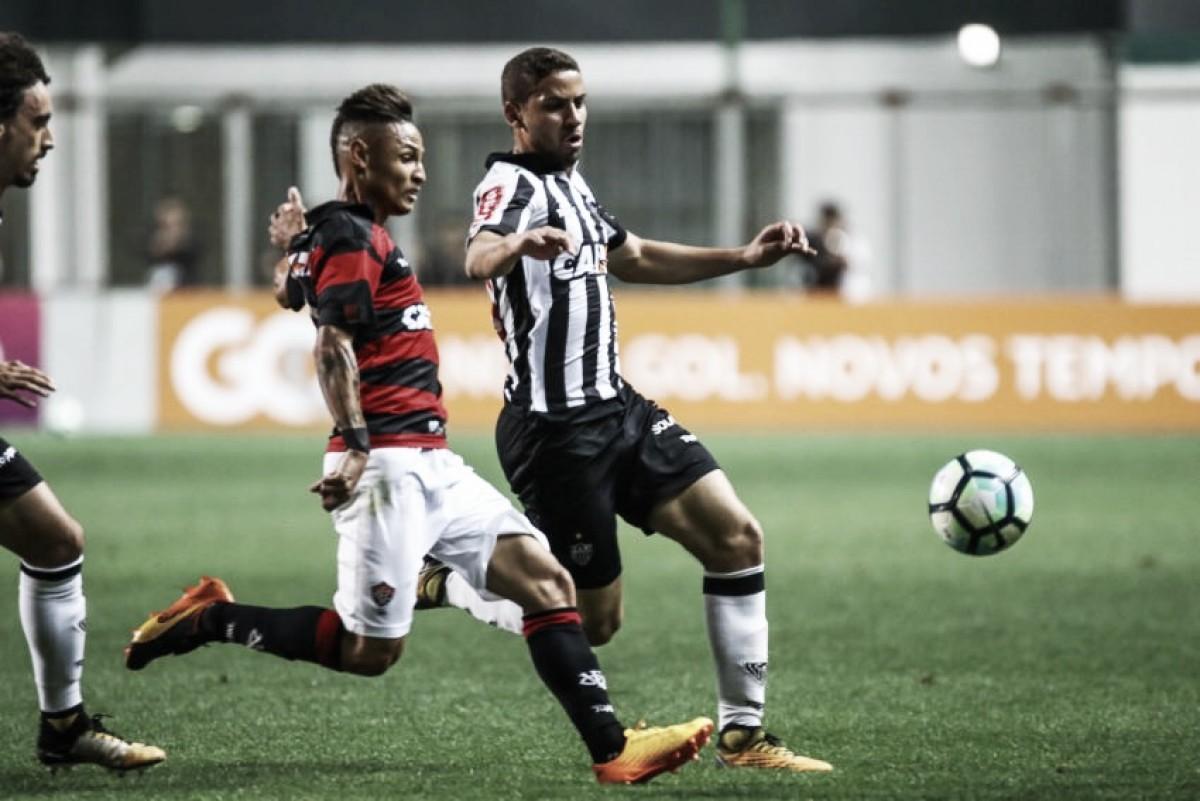 Atlético-MG e Vitória se enfrentam em Belo Horizonte em busca da primeira vitória no Brasileirão