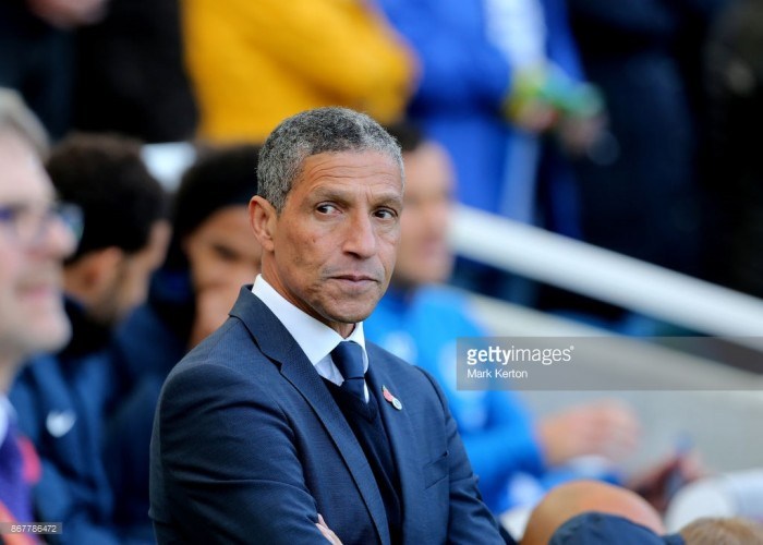 Brighton boss Chris Hughton delighted with 'three big points' at Swansea