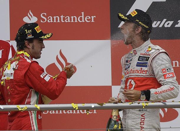 "Jenson Button: ""Por ahora prefiero no comentar la maniobra de Vettel"""