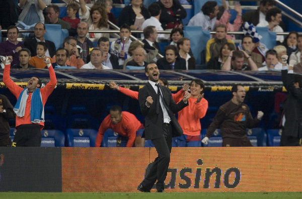 El inicio de la tradición de Guardiola y el Bernabéu