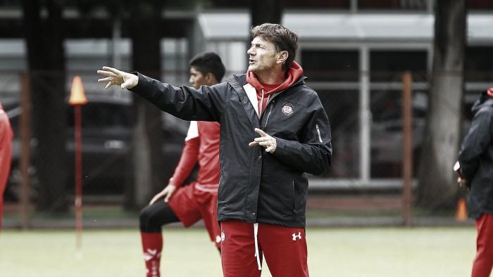 """Hernán Cristante: """"El equipo necesita hacer el mejor partido"""""""