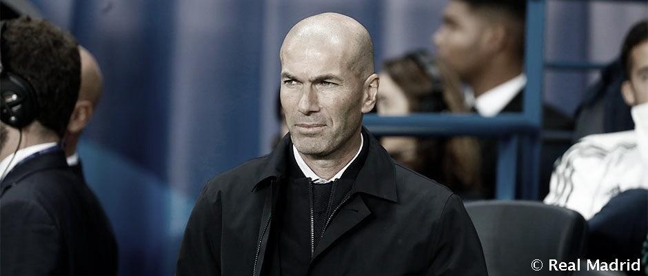"""Zinedine Zidane: """"No hemos estado a la altura"""""""