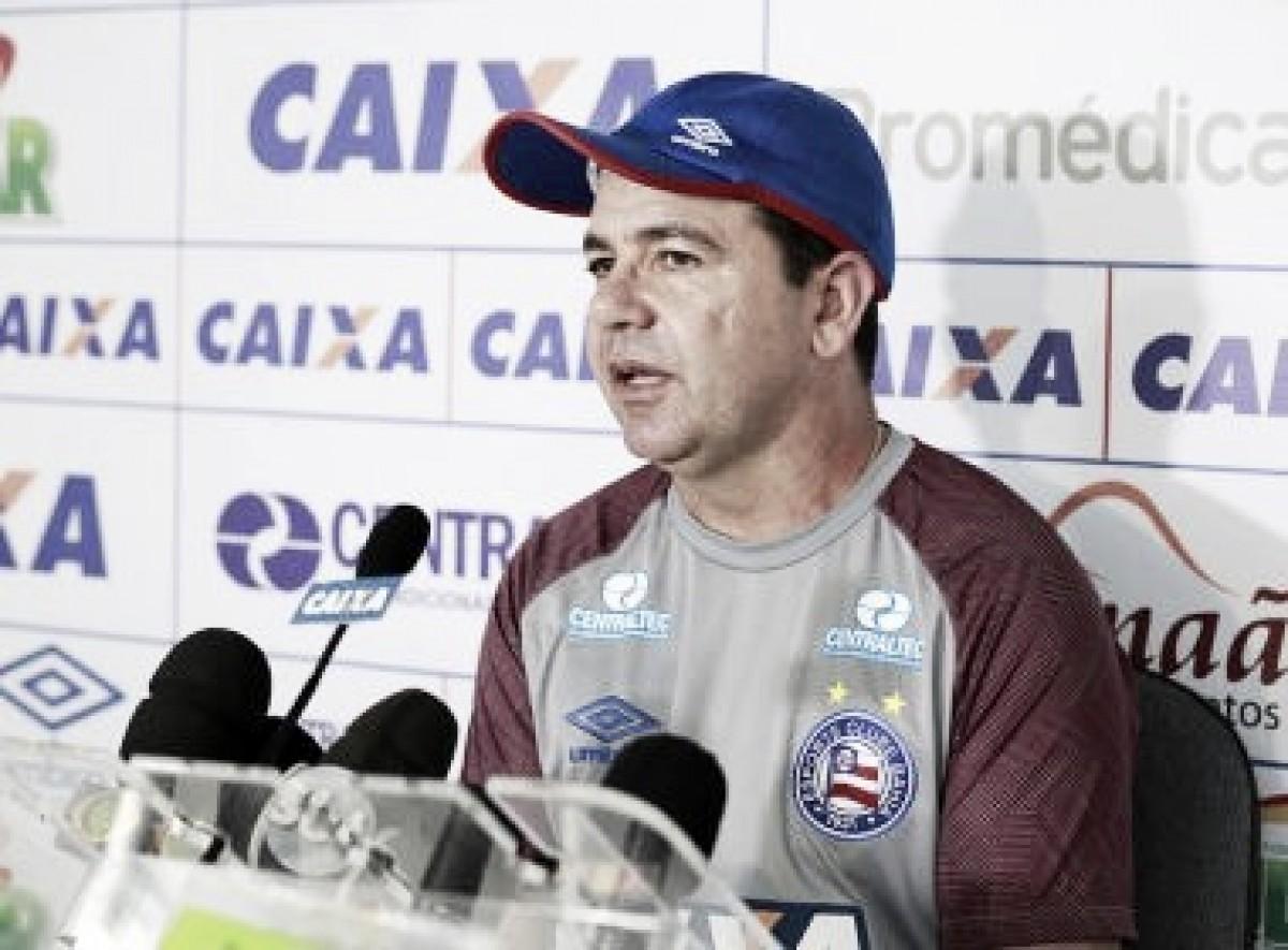 """Ederson Moreira se mostra insatisfeito com partida do Bahia: """"Desejo atuações melhores"""""""