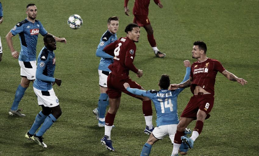 El Liverpool vuelve a pinchar ante el Nápoles