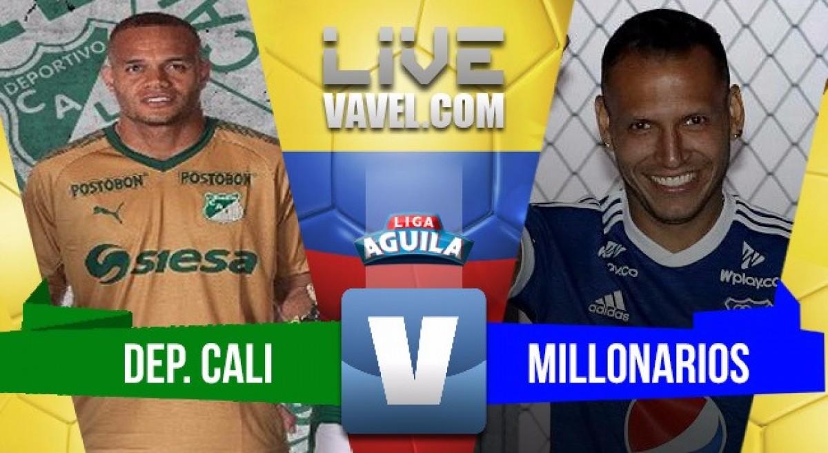 Deportivo Cali de local se lleva el triunfo ante Millonarios