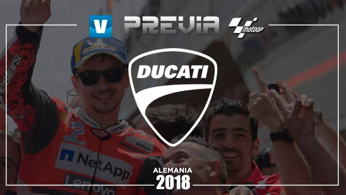 Previa Ducati GP de Alemania: el ritmo a seguir