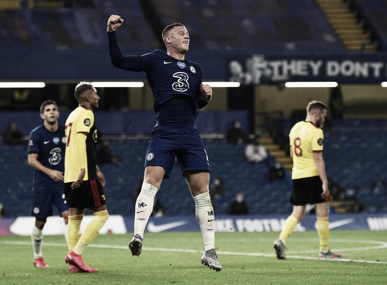 Chelsea se recupera, vence Watford com tranquilidade e retoma quarta posição da Premier League