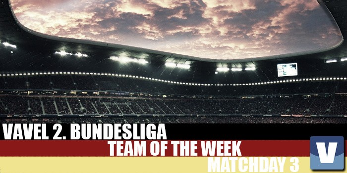VAVEL's 2. Bundesliga Team of the Week - Matchday 3: Goals galore before international break