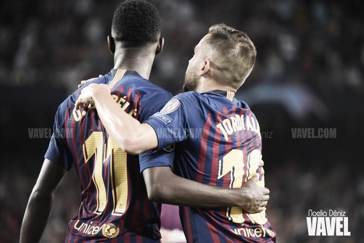 Resumen FC Barcelona vs Athletic Club (1-1) en LaLiga Santander 2018