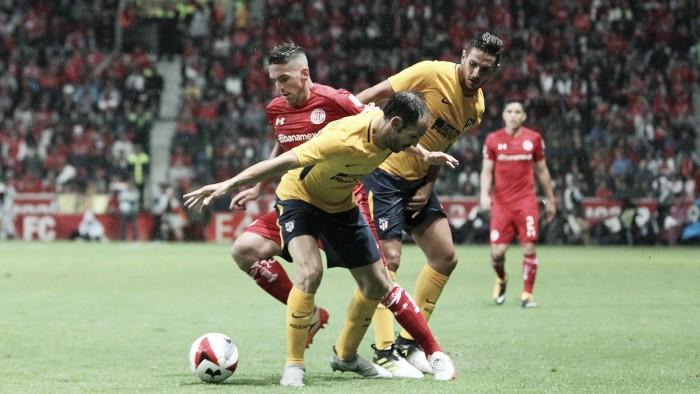 Toluca celebra Centenario con empate ante Atlético
