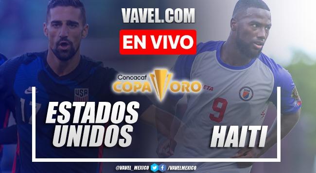 Resumen y gol: Estados Unidos 1-0 Haití en Fase de Grupos de Copa Oro 2021
