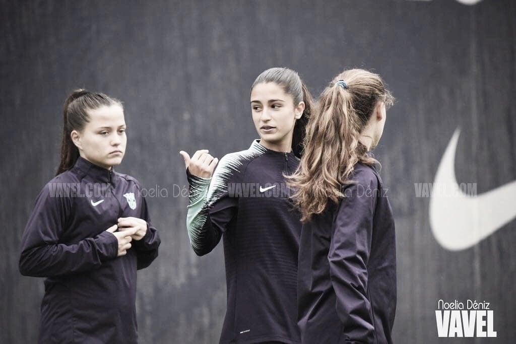 Pina y Jana vuelven al entrenamiento del Barça Femenino