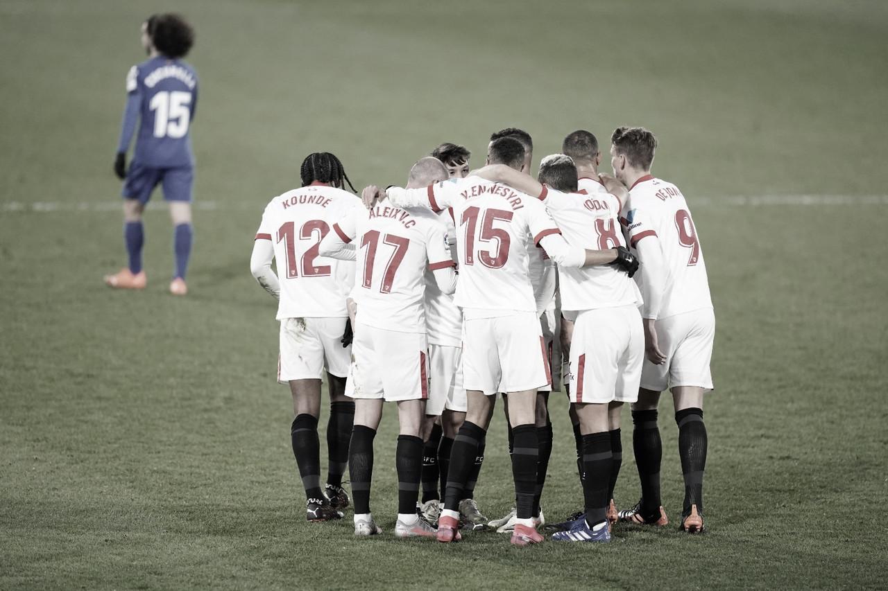 Getafe CF - Sevilla FC; puntuaciones del Sevilla FC, jornada 13 de LaLiga