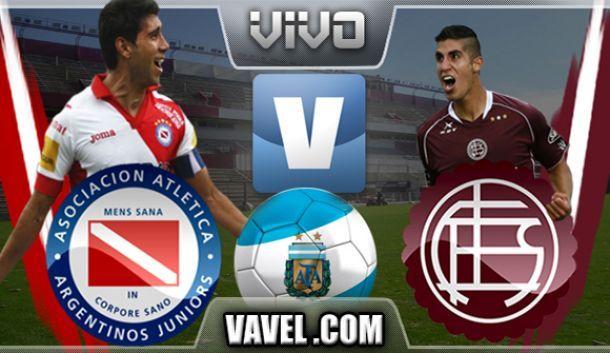 Resultado Argentinos Juniors - Lanús 2014 (0-2)