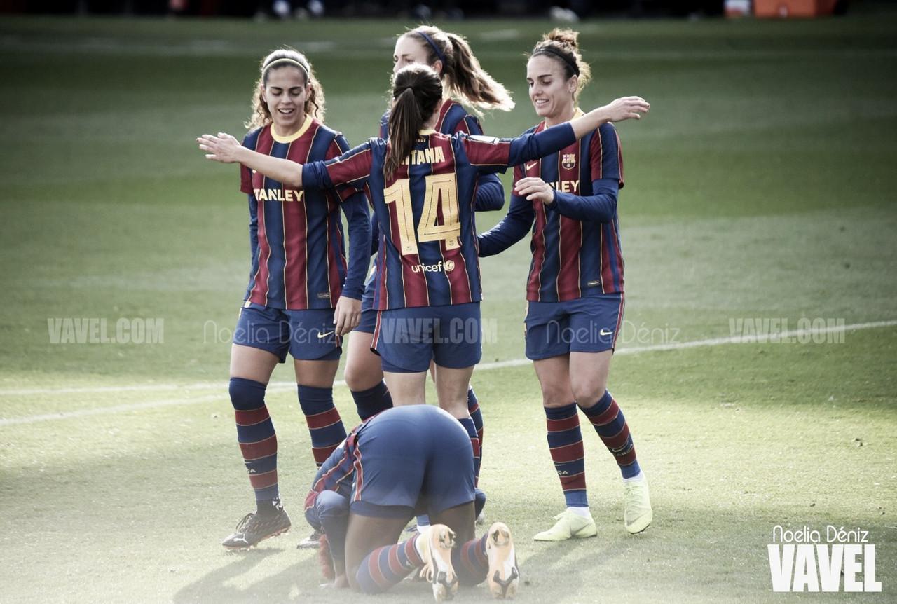 "Un Barça líder ""aplasta"" al Santa Teresa con récord histórico de Jennifer Hermoso"