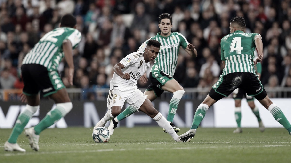 Real Madrid empata com Betis e perde chance de assumir liderança da La Liga
