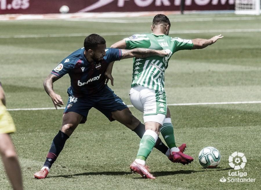 Levante vs Betis: los de Heliópolis vuelven a Sevilla con otra derrota