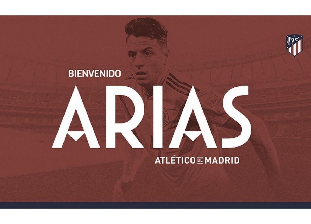 Atlético de Madrid anuncia chegada do lateral Santiago Arias, ex-PSV