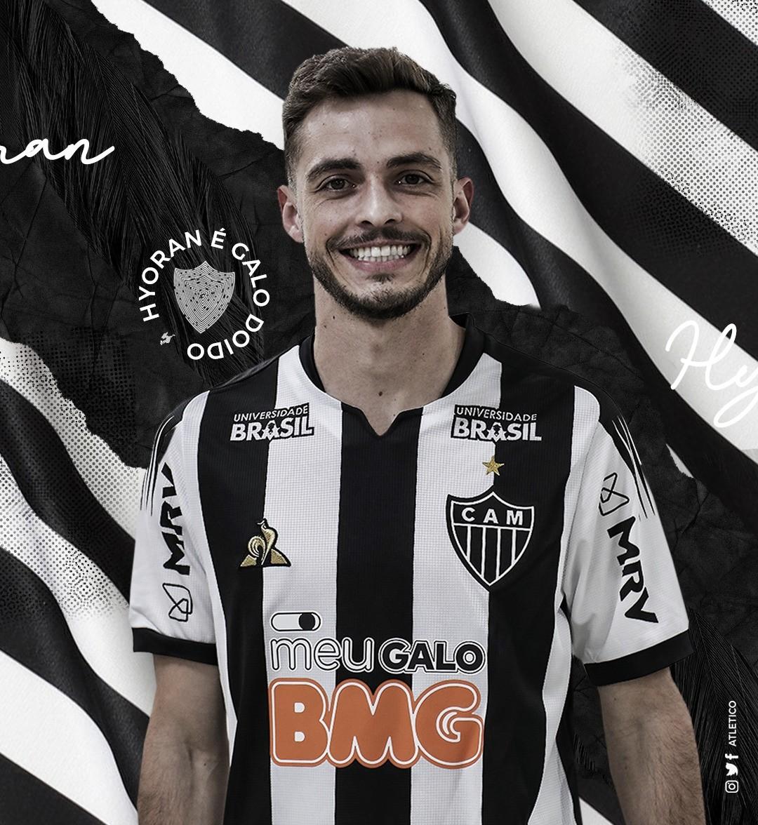 Por empréstimo, Atlético-MG contrata meia Hyoran, ex-Palmeiras