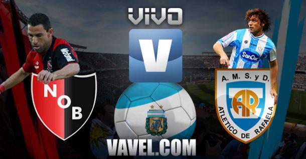 Resultado Newell's Old Boys - Atlético de Rafaela (3-1)