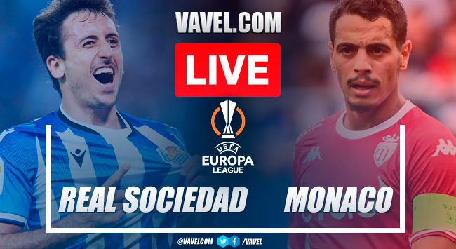 Goals and highlights: Real Sociedad 1-1 Monaco in Europa League 2021